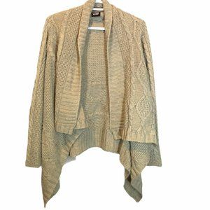 Point Zero Cable Knit Pattern Women's cardigan